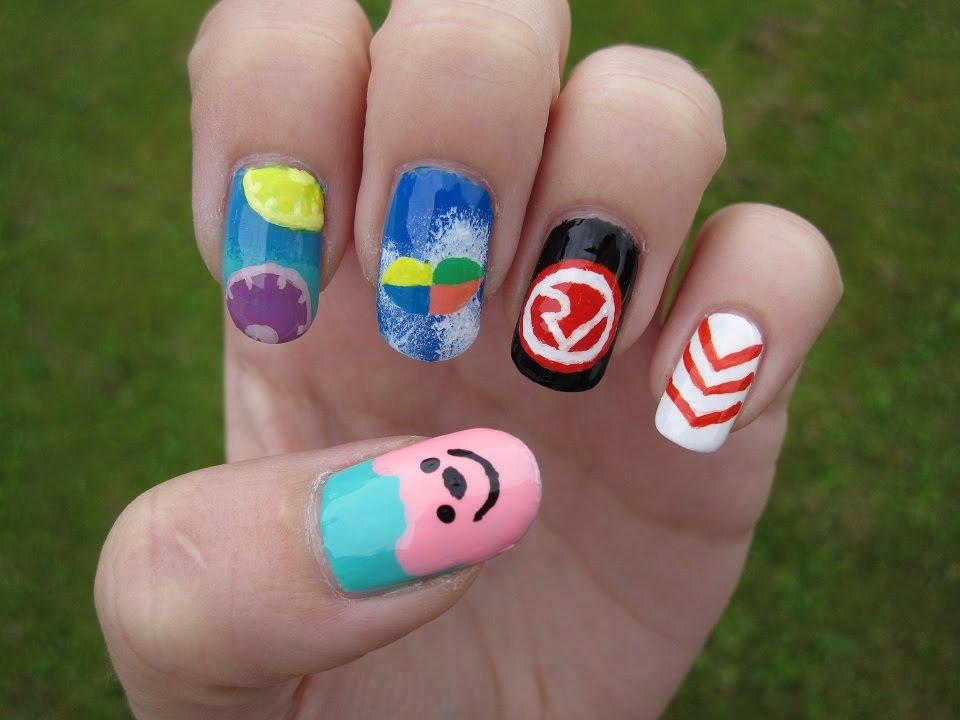 kpop red velvet - happiness nail