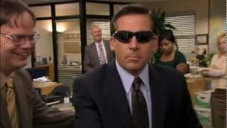 Michael Scott: Blind Guy McSqueezy - The Office