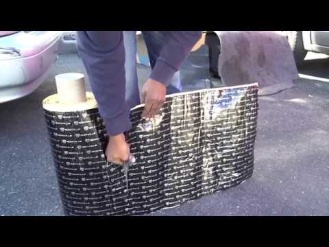 How To Install Rockmat Into Your Car Sound Dampening Material