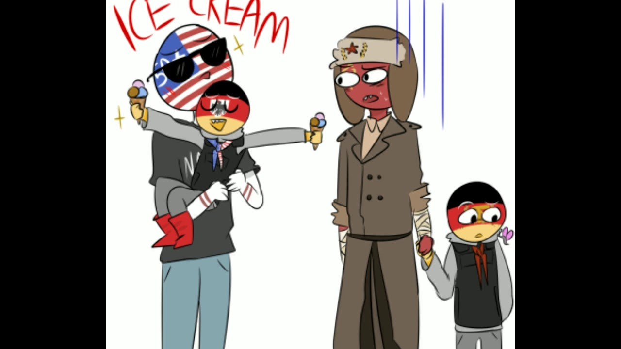 USA x USSR/Countryhumans (personaly not shipping) # ...