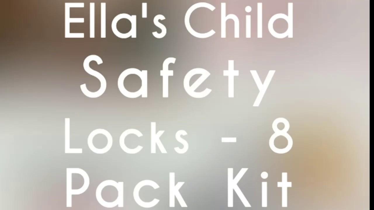 Child Safety Locks By Ella 4 Pack S Homes