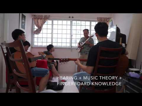 The Importance of Knowing Music Theory & Hearing the Moveable Do - Singapore Guitar Course