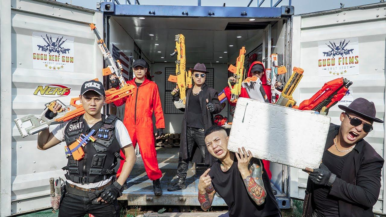 LTT Nerf War : Captain SEAL X Warriors Nerf Guns Fight The Bad Guys Dr Ken Crazy Bandits