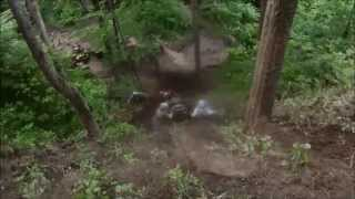 Bad ATV crashes and attempts