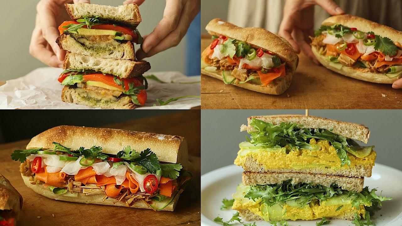 Download 3가지 비건 샌드위치 만들기ㅣ피크닉 샌드위치 : vegan sandwich