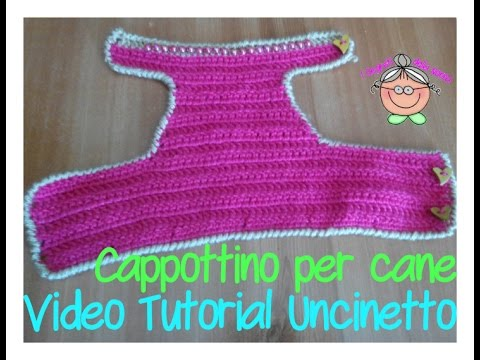 Tutorial uncinetto come si fa un cappottino per chihuahua for Impermeabile per cani fai da te
