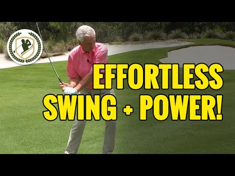 Golf Instruction - How To Get That Easy Swing With Effortless Power