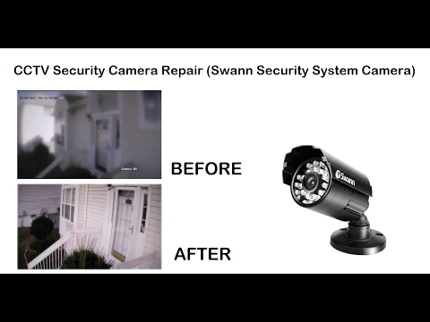 CCTV Security Camera Repair (Swann Security System Camera)