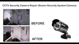 CCTV Security Camera Repair (Swann Security System Camera)