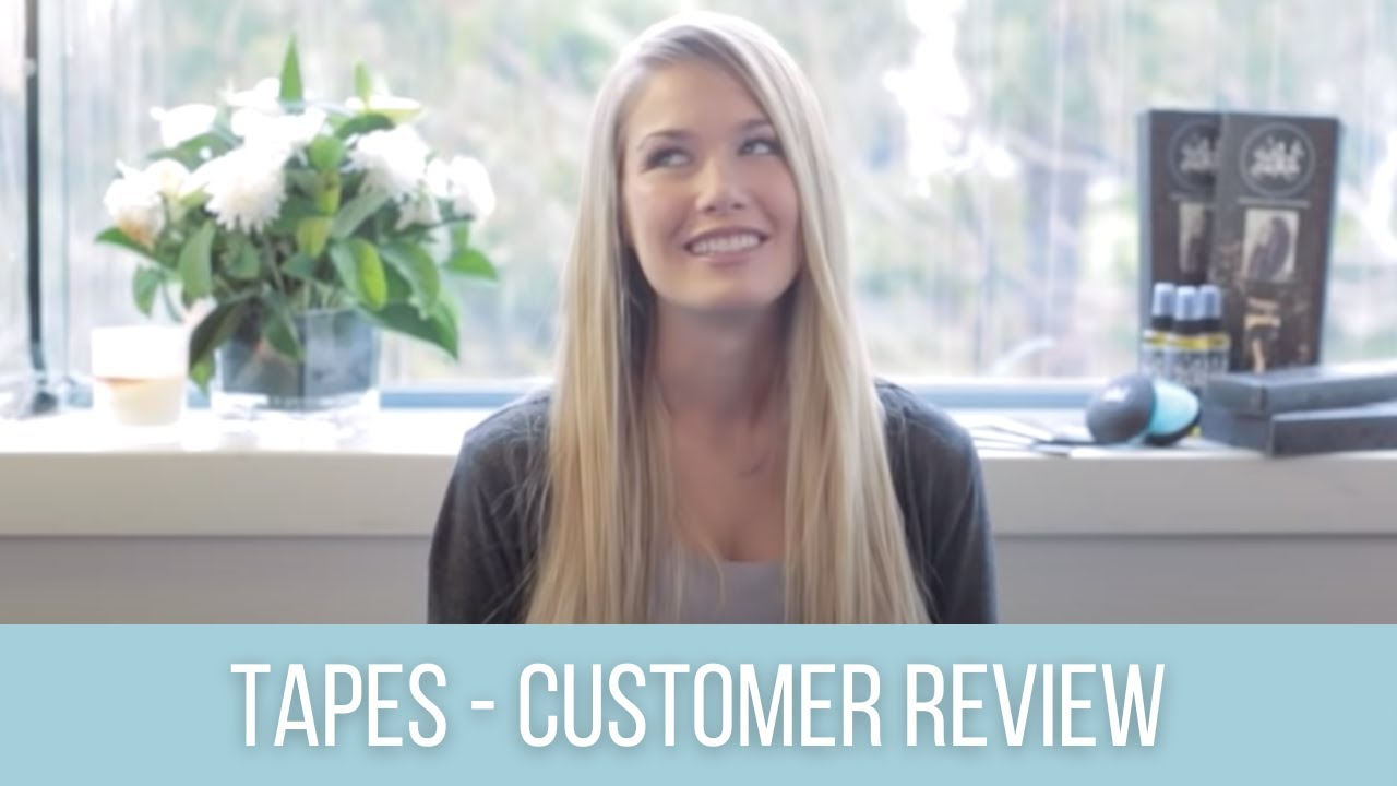 Zala Tape Hair Extensions Review Care Tips For Hair Extensions
