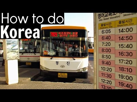 How to Use Buses and taxies in Korea - HOW TO DO KOREA