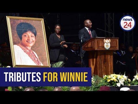ICYMI: South Africa honours Mam' Winnie
