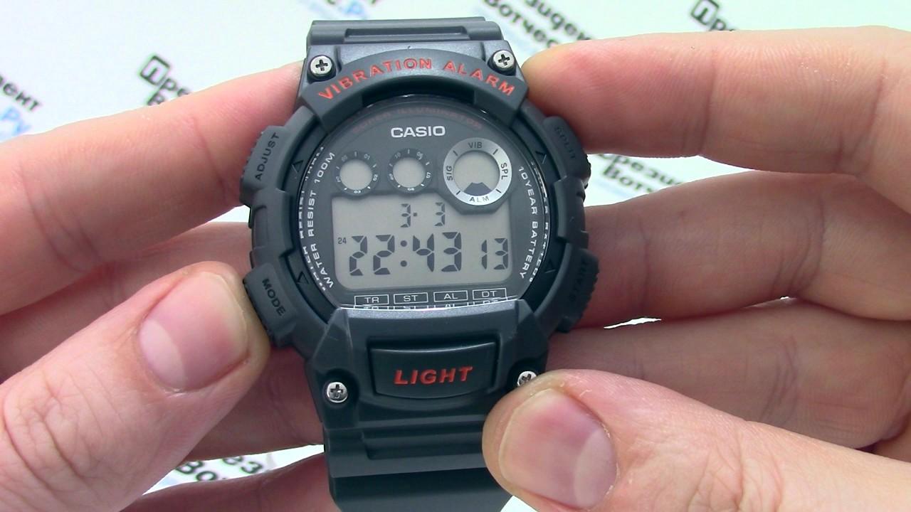 Инструкция часы casio illuminator