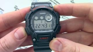 Годинник Casio Illuminator W-735H-8A [W-735H-8AVEF] - Інструкція, як налаштувати від PresidentWatches.Ru