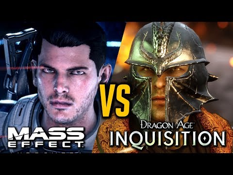 Mass Effect Andromeda VS. Dragon Age Inqusition - Which is The Better Game