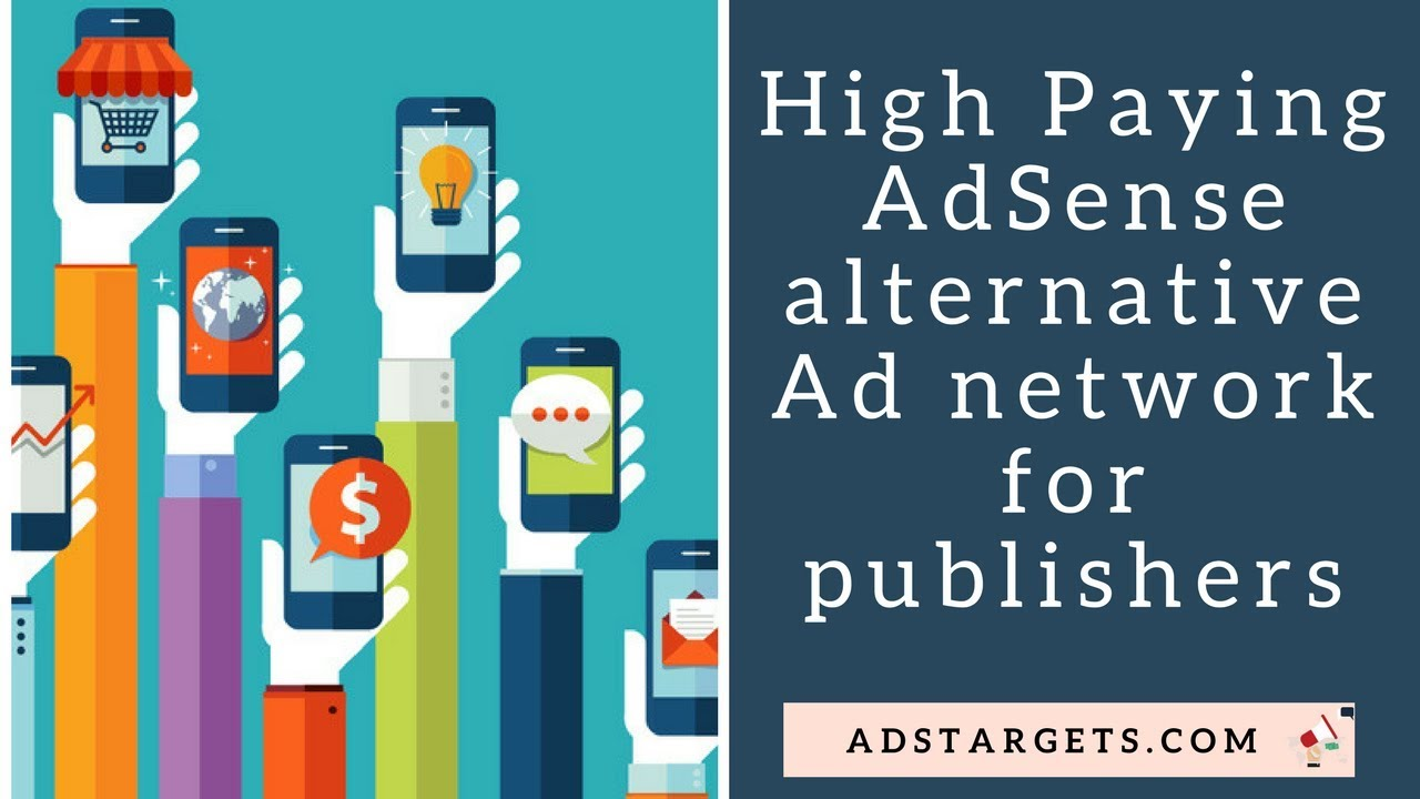 High Paying Adsense Alternative Ad Network For Publishers Youtube