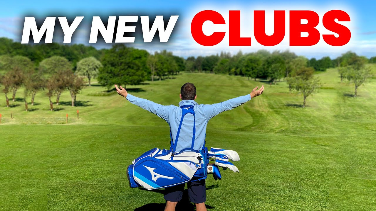 IVE GOT MY NEW CLUBS!!