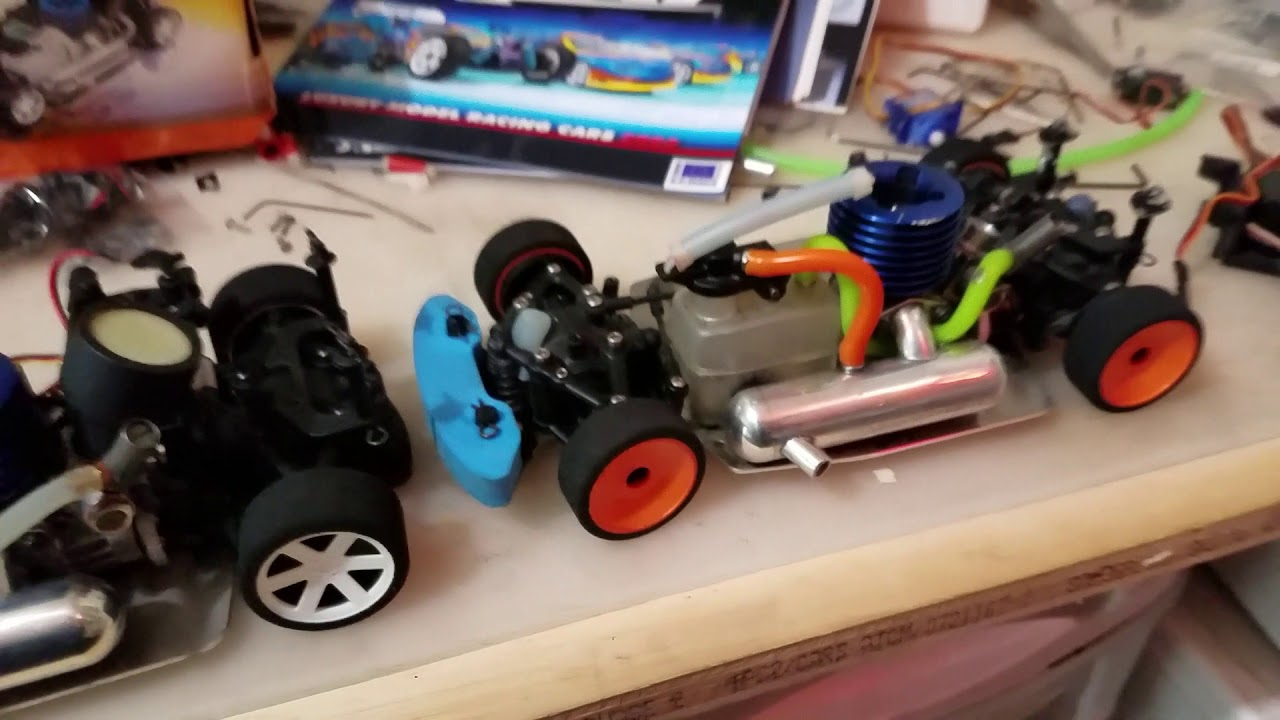 Xray Nt18 1 18 Scale Rc Worlds Smallest Production Nitro