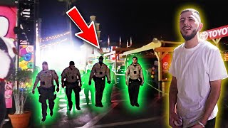 GOT KICKED OUT OF THE FAIR! *Escorted by police*