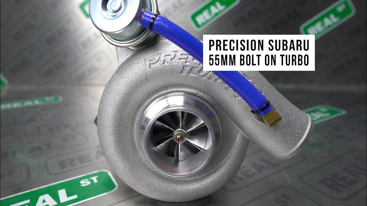Precision 55mm Bolt On Turbo for Subaru EJ20 and EJ25 WRX & STI - Real  Street Performance