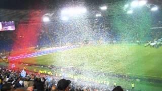 Finale Tim Cup Juventus Napoli  Parte della premiazione.AVI