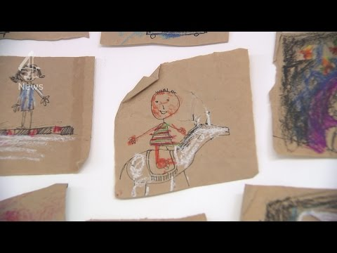 Gaza art: remembering the children killed in the 2014 war with Israel