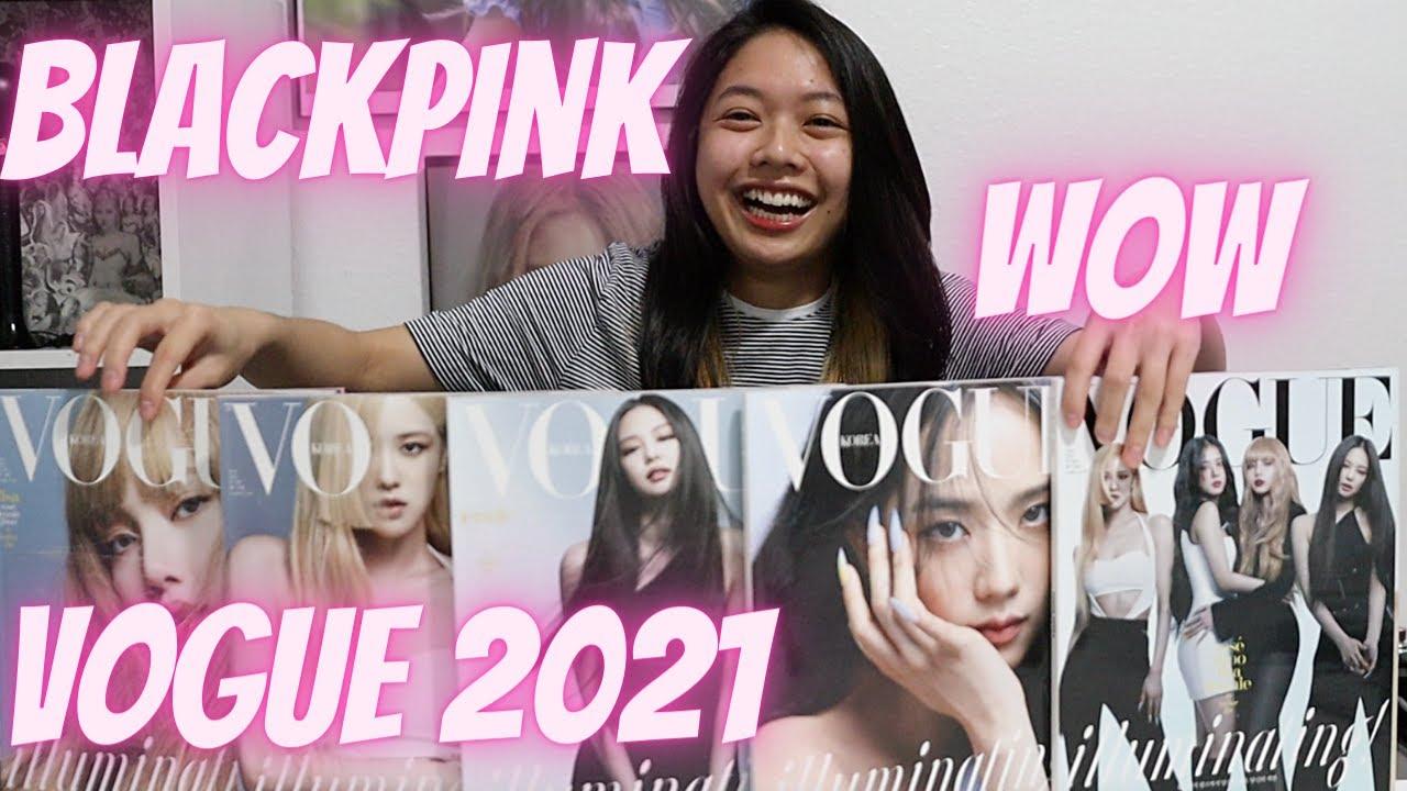 [Unboxing] BLACKPINK Covers (Each Member/Group) Vogue Korea June 2021 Issue + Reaction