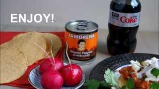 Turkey Tinga with La Morena Chipotle Peppers by LatinoFoodie com
