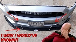 DO THIS BEFORE INSTALLING YOUR APR FRONT SPLITTER!!!!!