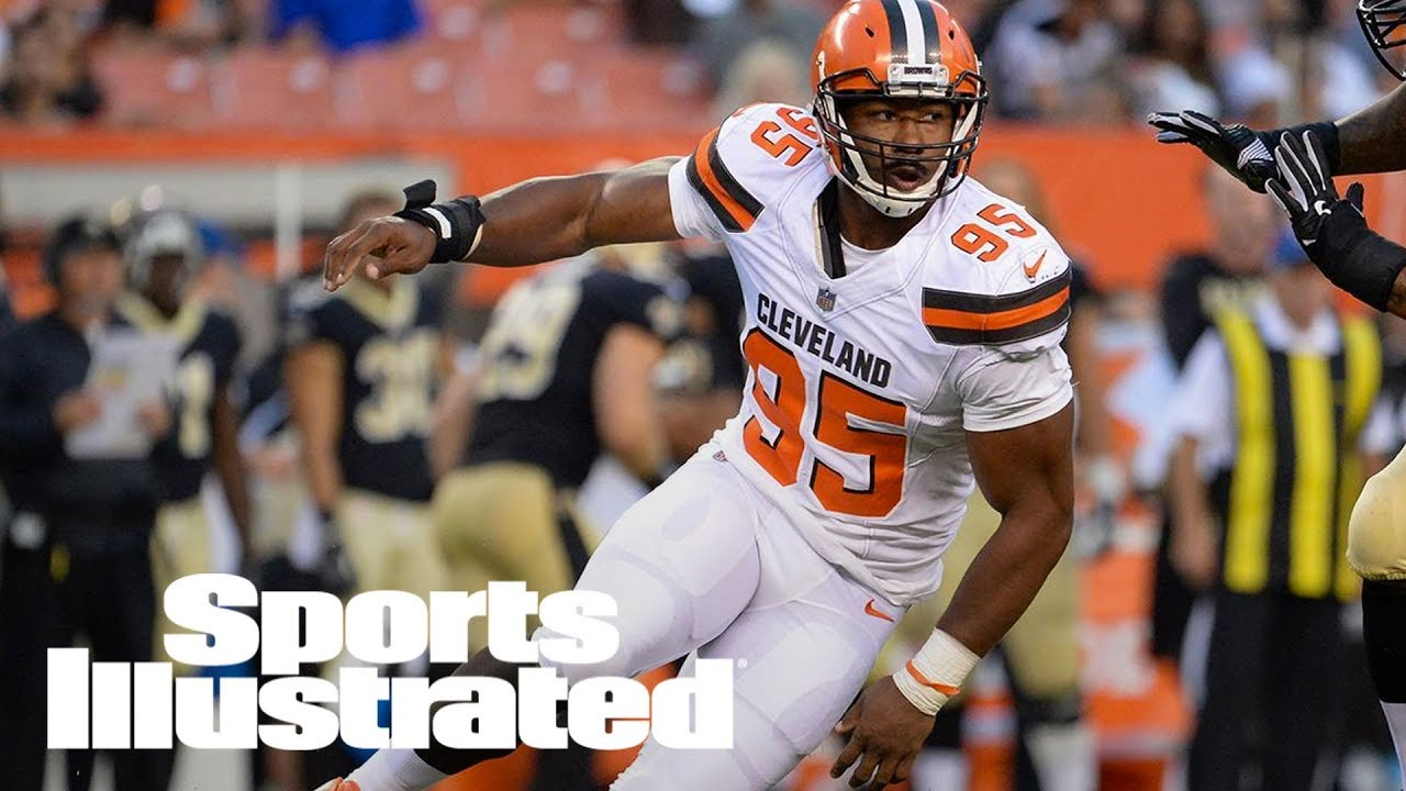 Myles Garrett has high ankle sprain, will miss Steelers, Ravens, maybe more