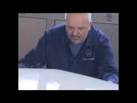 Как снять передний бампер CLS-Class Mercedes-Benz How to remove the front bumper