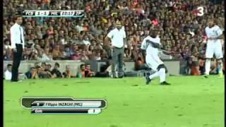 Barcellona  Milan 1-1: EUROGOL di Pippo Inzaghi (Trofeo Gamper) thumbnail