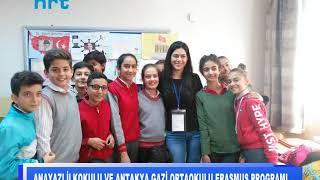 Anayazı İlkokulu ve Antakya Gazi Ortaokulu Erasmus Programı
