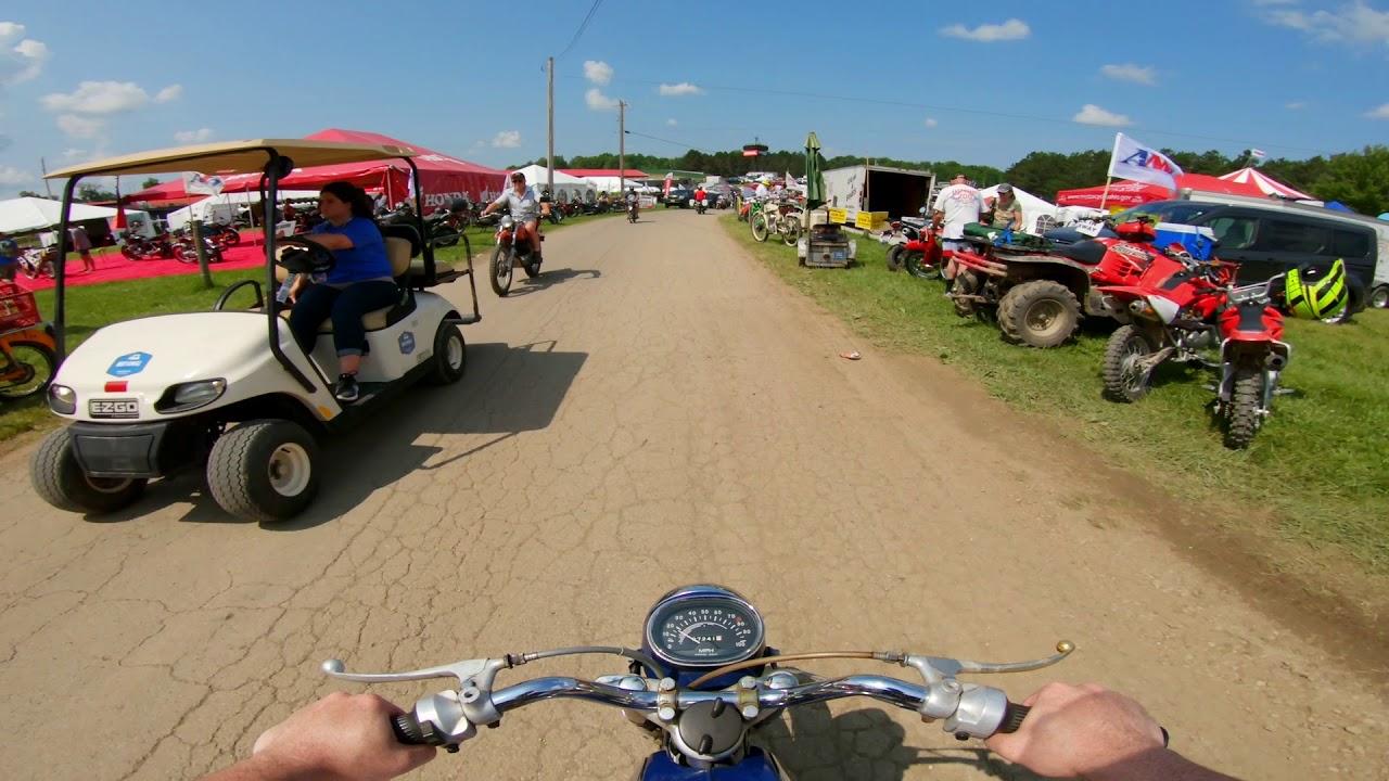 AMA Vintage Motorcycle Days: KTM Demos