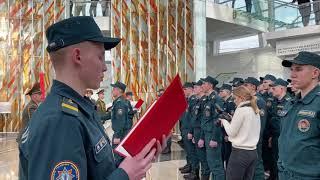 Присяга МГУ МЧС Музей ВОВ 2021