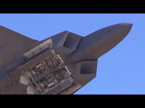 2015 F-22 Raptor Demo & Heritage Flight