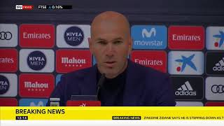 BREAKING: Zinedine Zidane Resigns As Real Madrid Manager | 31/05/2018