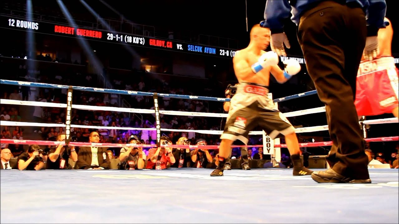 Robert Guerrero vs Selcuk Aydin  Son Raound Final Round Boks Maci