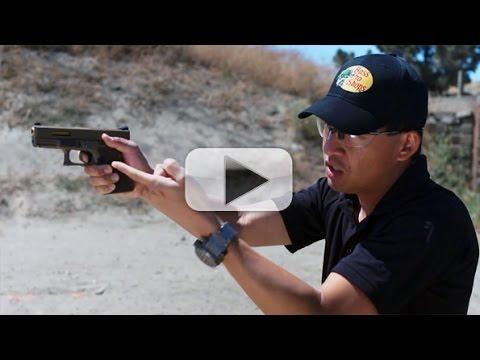 Proper Trigger Pull & Dry Fire Practice - Handgun 101 with Top Shot Chris Cheng