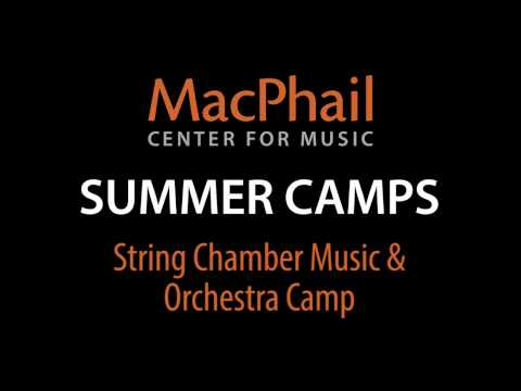 Summer Camps - String Chamber Music & Orchestra Camp