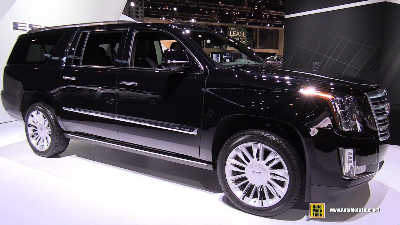 2015 Cadillac Escalade Platinum   Exterior And Interior Walkaround   2015  Chicago Auto Show   YouTube