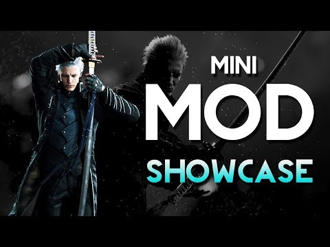 Devil May Cry 5 - Insanity's Vergil Style Announcer 【Mini Mod Showcase】 thumbnail