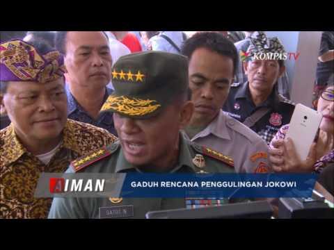 Gaduh Rencana Penggulingan Jokowi
