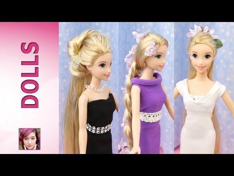Rapunzel's Fashion Show Part 1: Hair Tutorial