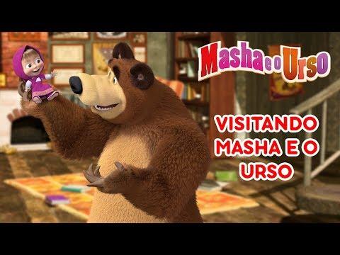 Masha e o Urso - Visitando Masha e o Urso 🐻👱♀️