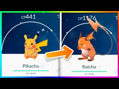 what will happen if you evolve your Shiny Pikachu - YouTube