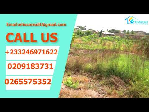 LAND FOR SALE AT AMASAMAN  ACCRA