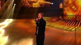 The X Factor 2009 - Joe McElderry - Live Show 7 (itv.com/xfactor)