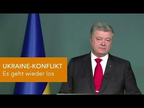 UKRAINE-KONFLIKT - Es geht schon wieder los!
