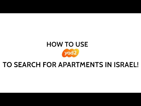 How To Look For Apartments In Israel On Yad2